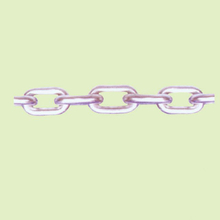 STAINLESS STEEL LINK CHAIN SUS304/316 JAPANESE STANDARD