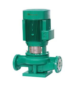 Vertical pipe centrifugal pump