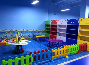 Handwork Area of kids Indoor play area