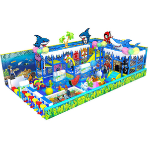 Ocean Theme Children Amusement Park Custom Soft Indoor Playground