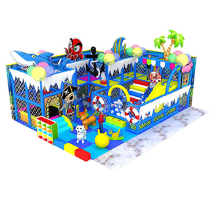 Ocean Themed Amusement Park Small Indoor Playground Equipment