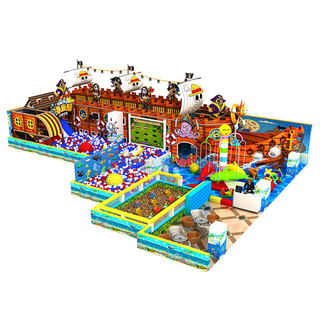 Pirate Ship Theme Amusement Park Kids Indoor Soft Play Equipment