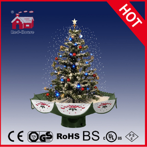 (18030U075-GS) New Design Christmas Ornaments Tree Umberlla Base
