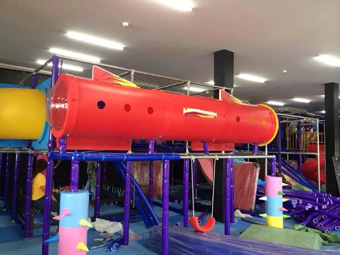 Indoor playground at Surin in Tailand