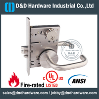 Stainless Steel 304 ANSI Classroom Mortise Lock for Metal Door - DDAL05 F05