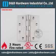 DDSS001-5x4x3.4mm-Stainless Steel 304 Modern UL Fire Rated 2BB Door Hinge for Outer Steel Door