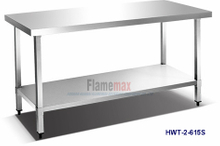 HWT-2-615S Kitchen Working Table/Workbench (square tubes)