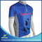 Customized Sublimation Printing Bicycle Jersey with 1/4 Zipper