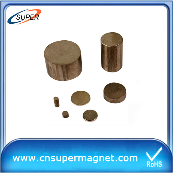High Quality D18*10mm SmCo Permanent Magnet