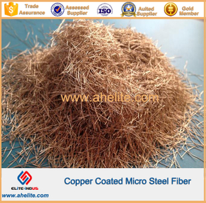 Copper Coated Micro Steel Fiber