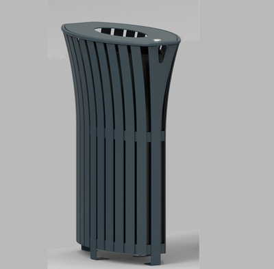 Commercial waste can with iron coated HW-520