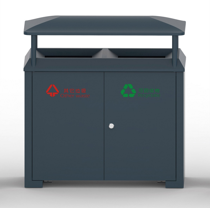 European style outdoor waste can HW-325