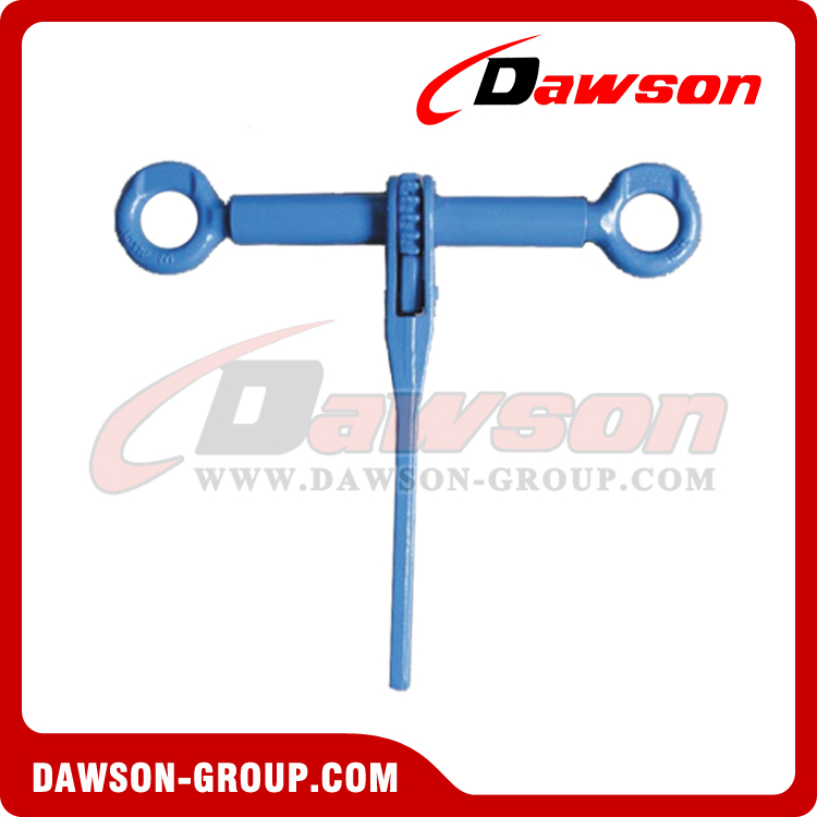DS1031 G100 Ratchet Load Binder Without Links And Hooks for Transport Lashing