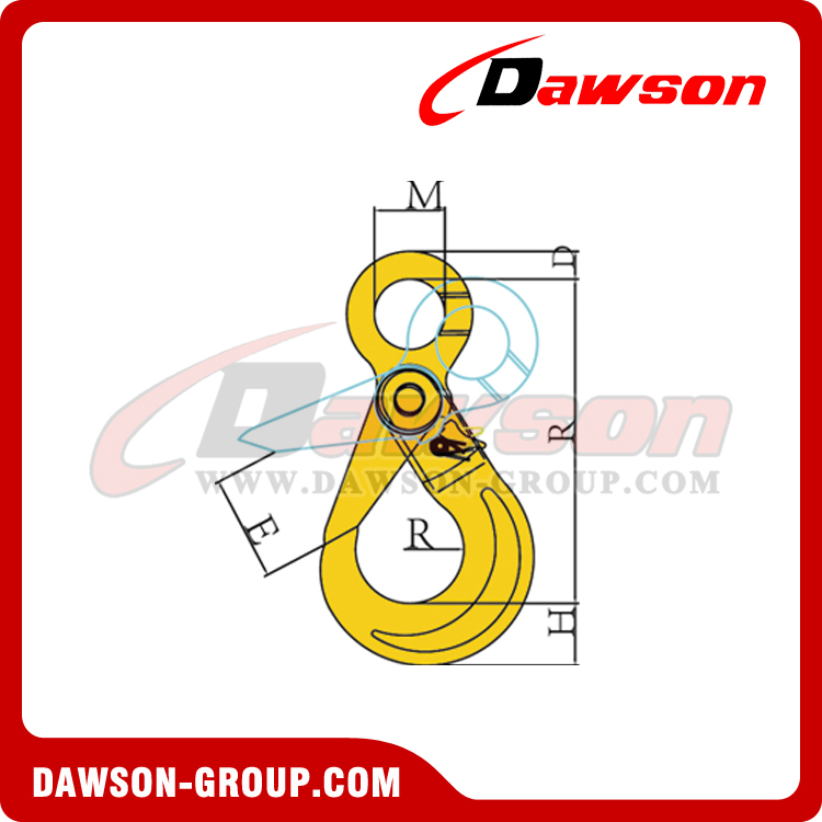 DS081 G80 EUROPEAN TYPE EYE SELFLOCK - DAWSON GROUP LTD. - CHINA MANUFACTURER SUPPLIER