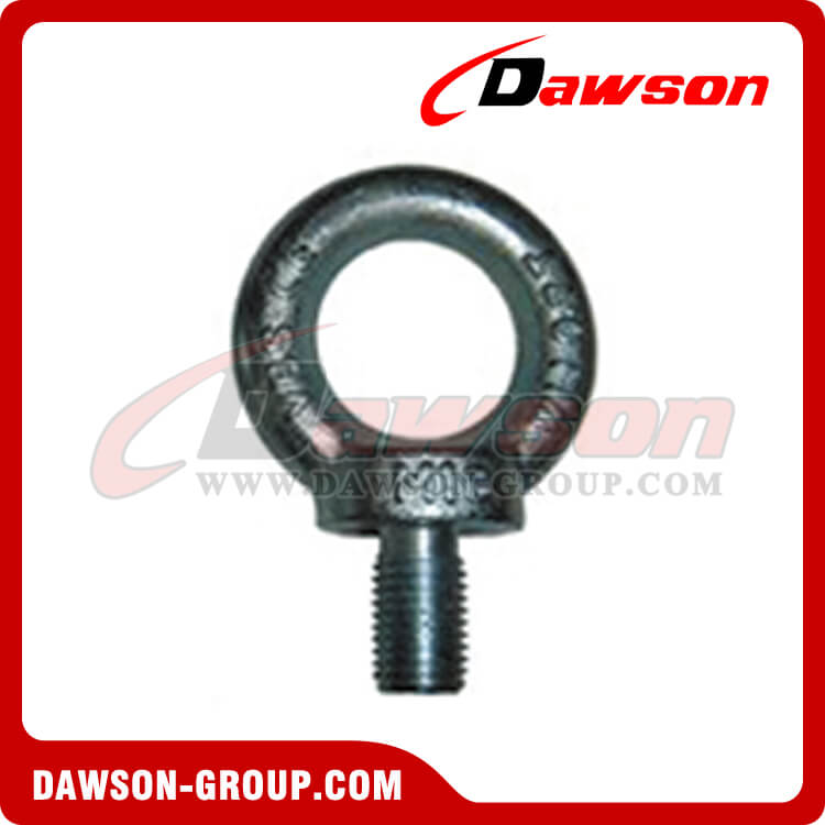 GALVANIZED EYE BOLTS DIN 580 – LIFTING EYE SCREW