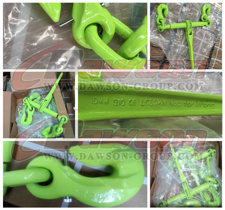 DS1030 G100 Ratchet Binder With Safety Hooks - Dawson Group Ltd. - China Manufacturer, Supplier, Factory