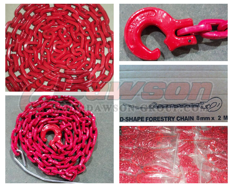 Detail of D- Shape Forestry Chain - Dawson Group Ltd. - China Manufacturer, Supplier, Factory