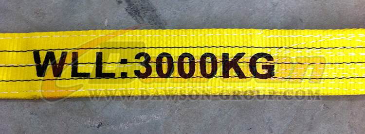 WLL 3 Ton Polyester Webbing Slings - Lifting Slings - Dawson Group Ltd. - China Manufacturer, Supplier, Factory