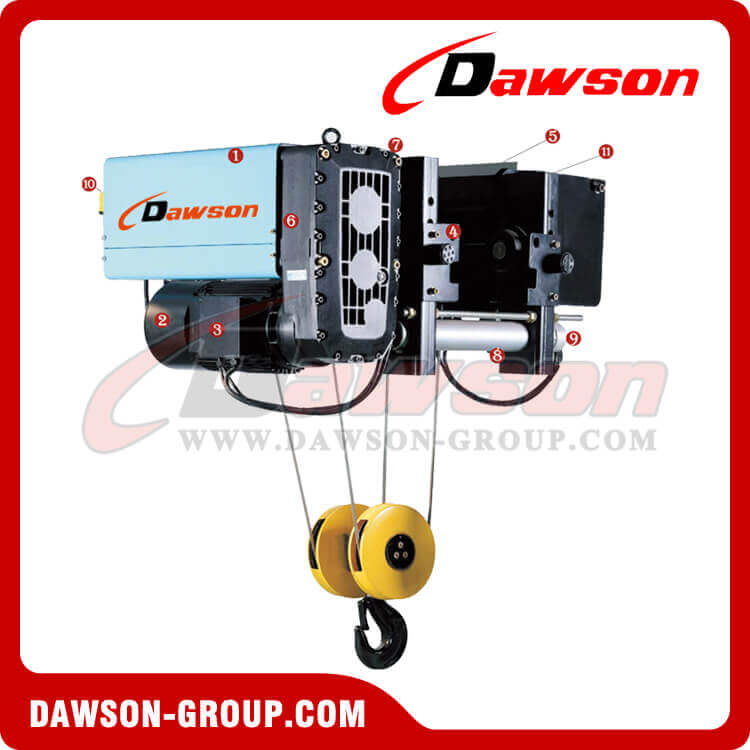 Single Girder Electric Lifting Chain Hoist