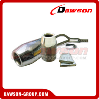 Wire Rope Flemish Eye Steel Swaging Sleeves(S-505)