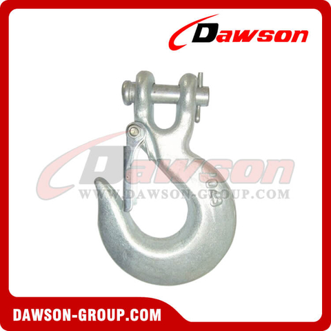 DS127 G70 and G43 Forged Clevis Slip Hook with Latch
