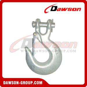 DS127 G70 and G43 Forged Clevis Slip Hook with Latch for Lashing