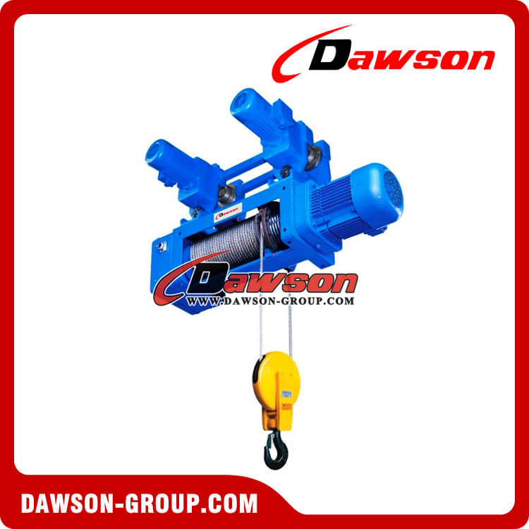 Monorail Electric Wire Rope Hoist Hook Suspension type Hoist 2-1 ...