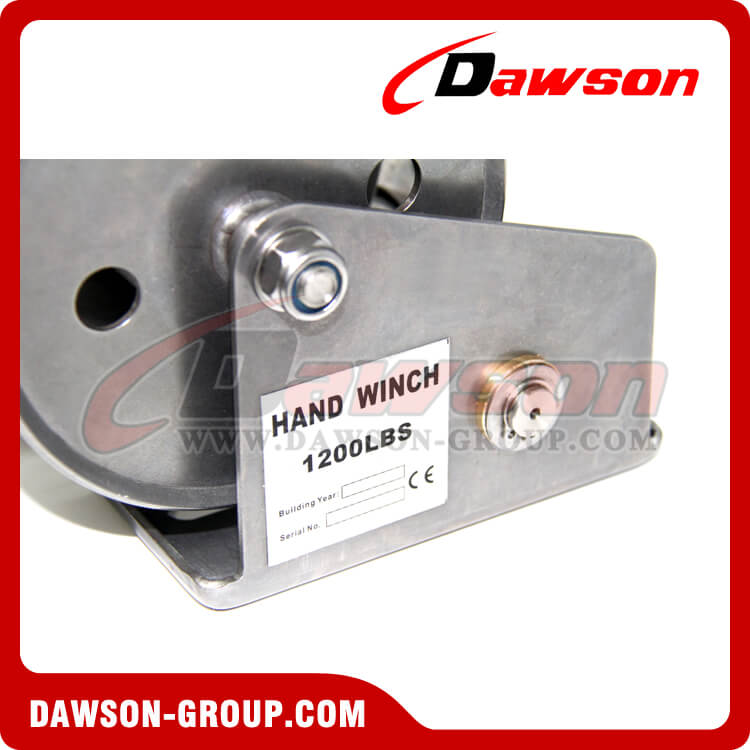 1200LBS SS304 Small Stainless Steel Reversible Hand Winches
