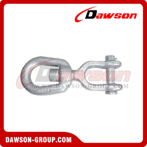 G403 Forged Galvanized Steel Jaw Swivels