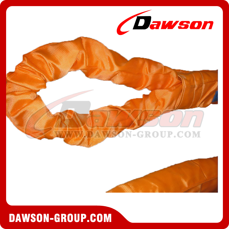 80t heavy duty round lifting slings - Dawson Group Ltd. China Manufacturer Supplier