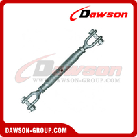 Hot Dipped Galv. Rigging Screw Jaw and Jaw Turnbuckle with Stud Nut