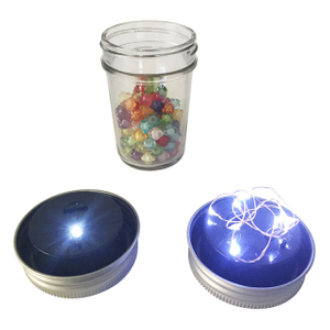 Mason Jar Light Lid