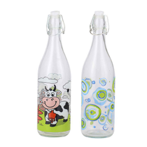 1000ml Glass Milk Bottle