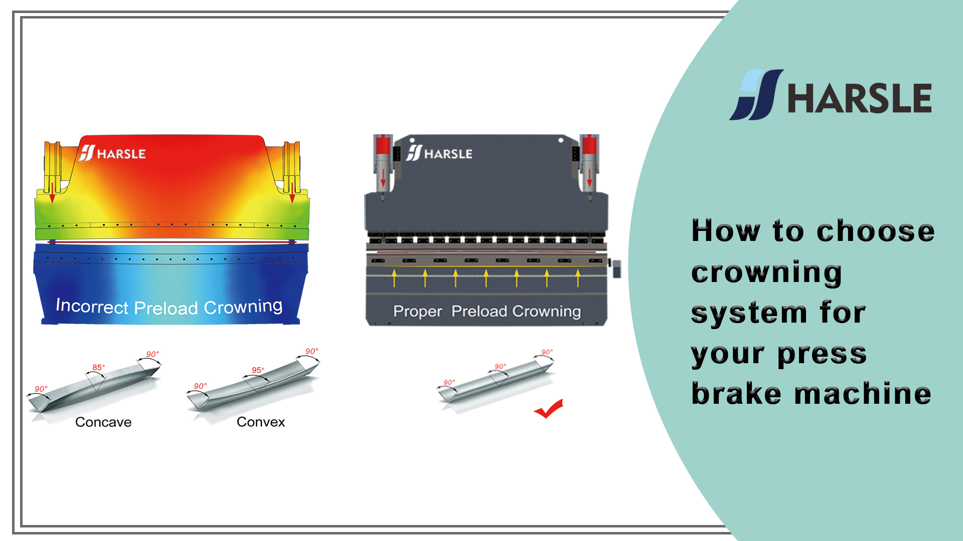 How to choose crowning system for your press brake machine