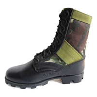 Panama sole jungle boots