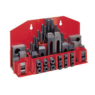 58 Pcs Deluxe Steel Clamping Kit