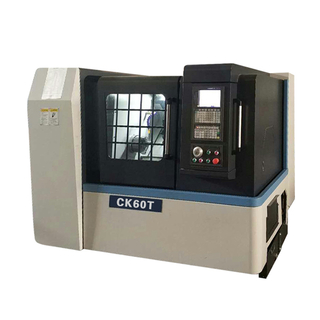 CK60T CNC Lathe with 12 Position & 3 1/2'' Bore