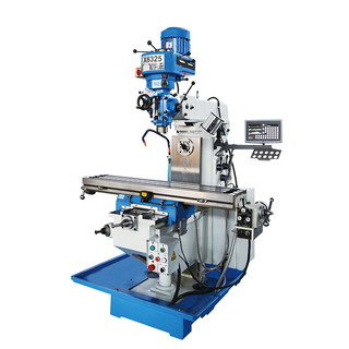 X6325 Milling Machine With X,Y Power Feed & 3 Axis DRO Optional