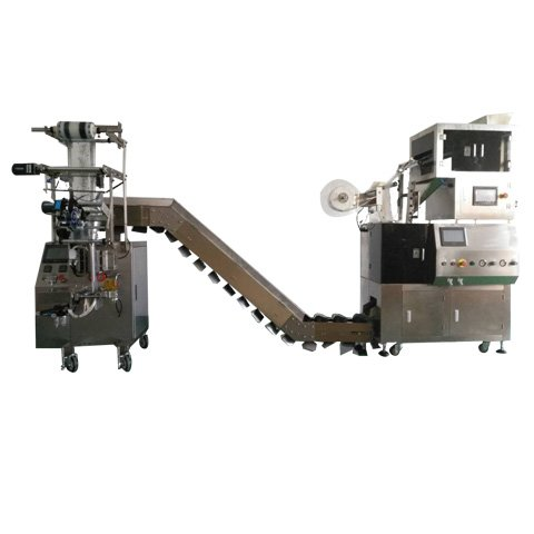 Nylon pyramid type/square bags type inner and outer Packaging Machine-Model:XY800SJ-4T(4head electronic scales)