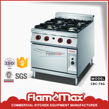 New design CRC-94G 4-Burner Gas Range with Gas Oven made in China