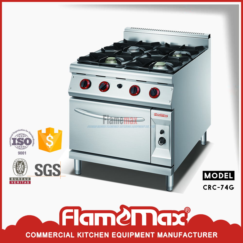 New design CRC-94G 4-Burner Gas Range with Gas Oven made in China on ...