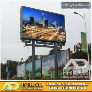 Outdoor Digital DIP LED-Modul Werbung Anzeige Billboard-Struktur