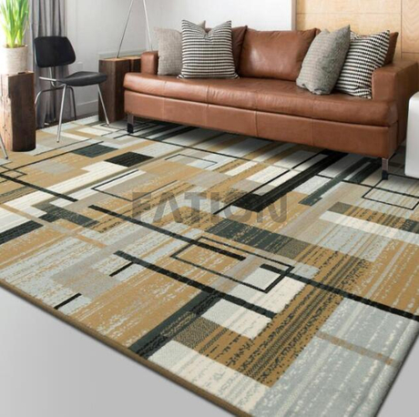 Contemporary Soft Floor Carpet Polypropylene Rug