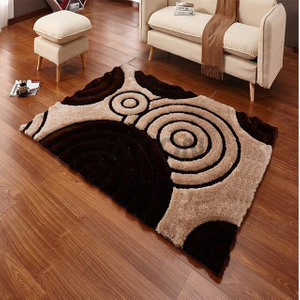 5'×8' Polyester Unique 3D Area Rug Modern Shag Carpet