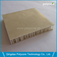 FRPan-PP honeycomb sandwich panel