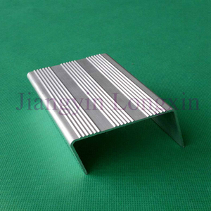 Silver Anodized Aluminum Profile for Construction