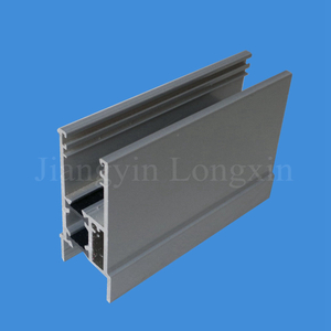 Grey Coated Aluminum Extrusion for Windows, Thermal Break