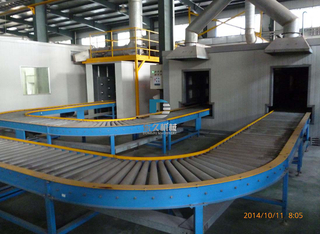Gravity Curved Conveyor
