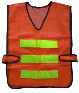 Red mesh reflective vest supplier in China