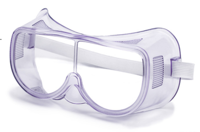 PVC lesn Safety Goggles